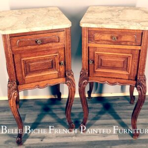 Marble Top Bedsides