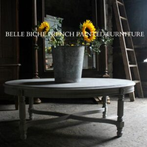 'French Grey' Oval Coffee Table