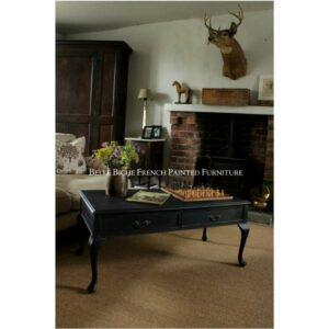 Boho Rectangular Two Drawer Coffee Table