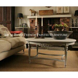 'Gustavian Grey' Oval Coffee Table