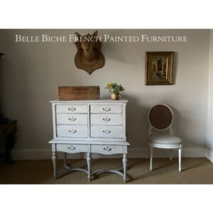 George III Style Large 8 Drawer Chest Commode