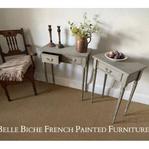 Beautiful Set of 2 George III Style Side Tables