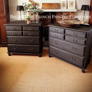 Pair of Large George III Style Chest Commodes