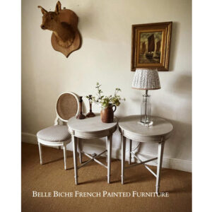Generously Proportioned Pair of Elegant Gustavian Style Side Tables