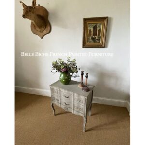 Original French Two Drawer Chest Commode