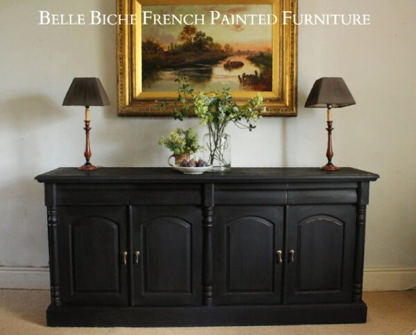 Colonial Style Four Door Mahogany Dresser Base