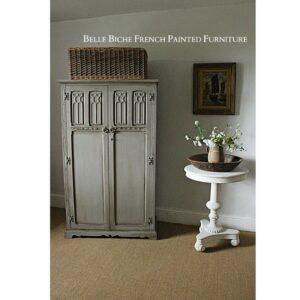 Late Edwardian 'French Ash Grey' Bijou Wardrobe