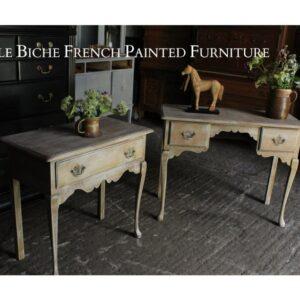 Weathered Oak Side Tables
