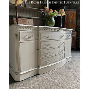 Reproduction Breakfront Sideboard